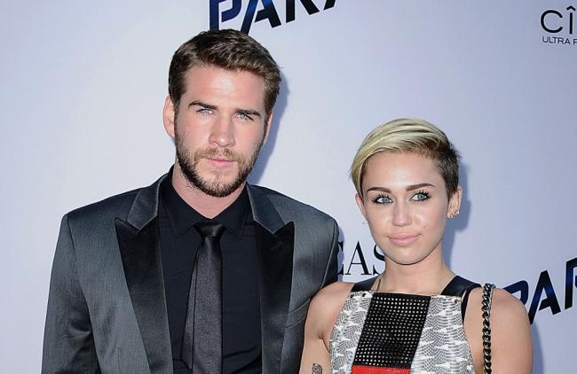 Miley Cyrus y Liam Hemsworth, ¿amistas o algo más?