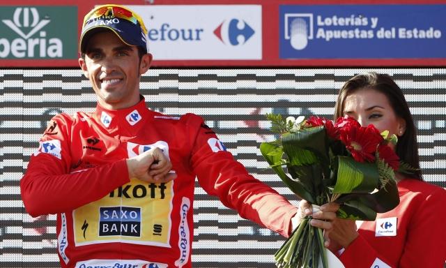 Contador en lo más alto del ranking