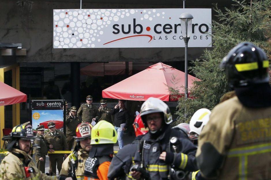 Cae presunto sospechoso de atentado en Chile