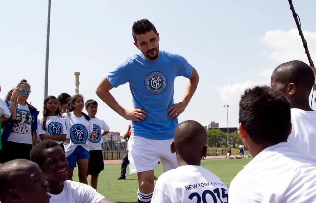 David Villa pone todo al color de MLS