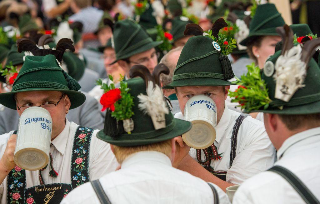 Alemania celebra el festival de la cerveza
