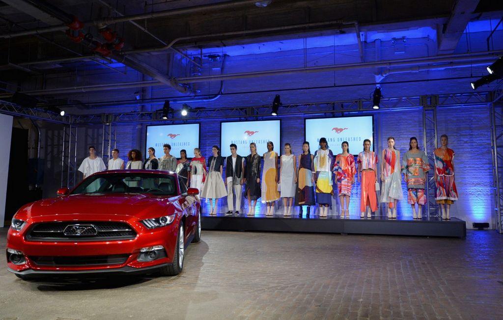 Debuta la colección Mustang Unleashed