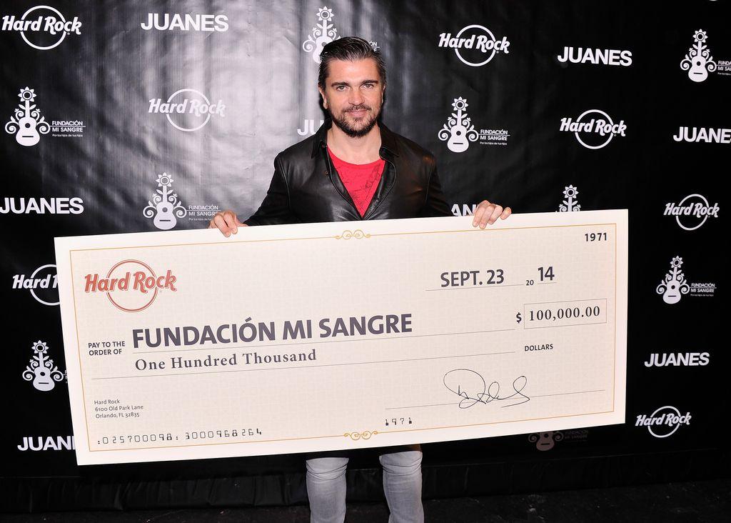 Entérate de algunos de los sueños rockeros de Juanes
