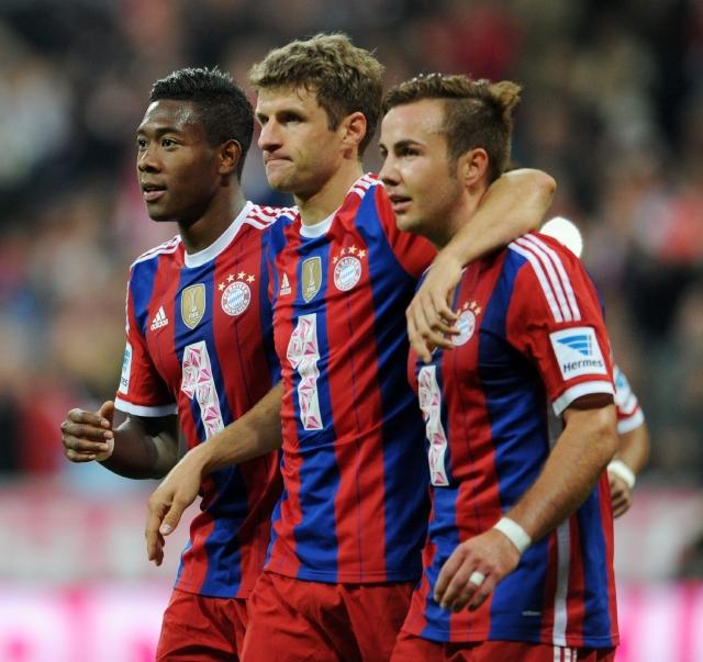 Bayern golea y se apodera de la punta