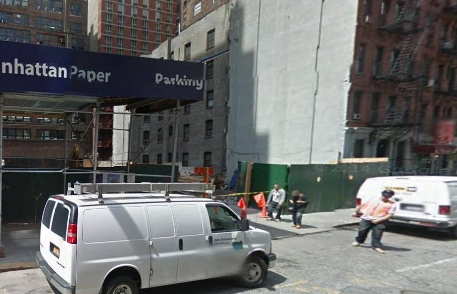 Obrero hispano muere aplastado por pared en Manhattan