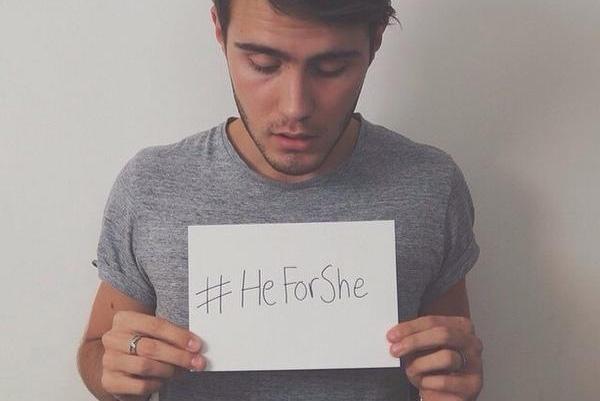 Miles de hombres se unen a #HeforShe por el feminismo (video y tuits)