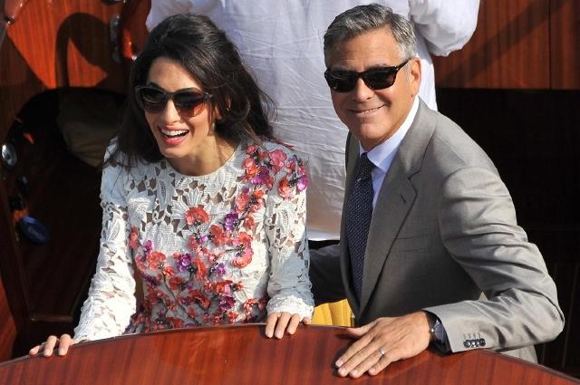 George Clooney y Amal Alamuddin ya están legalmente casados