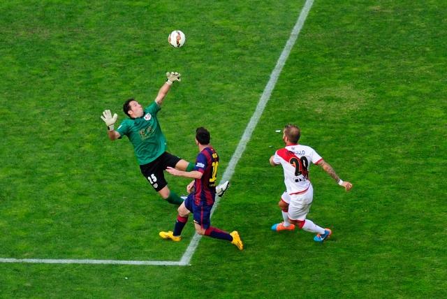 A Messi y Neymar