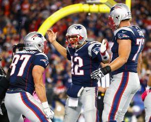 Brady pasa las 50 mil yardas y Patriots terminan con invicto de Bengals