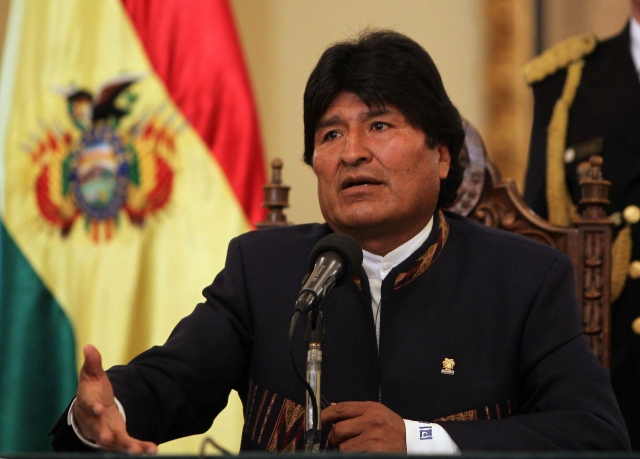 Morales favorito en elecciones