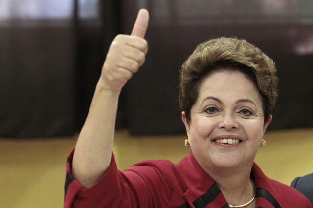 Elecciones Brasil: Dilma tendrá que vencer en segunda vuelta
