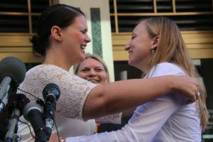 Primeras parejas gay se casan en Virginia