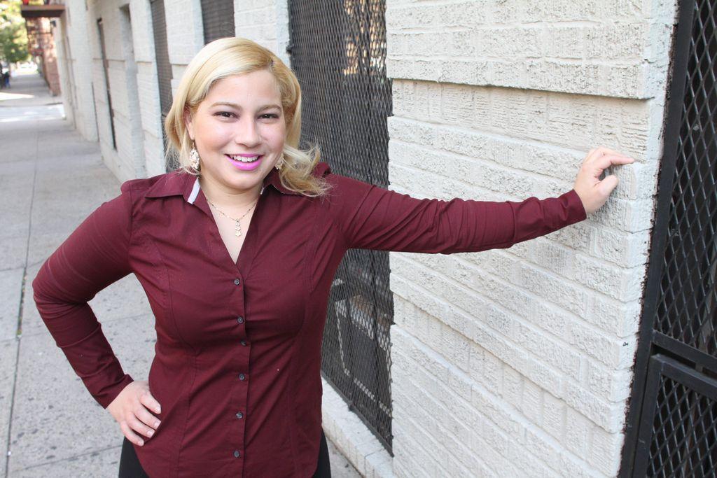 Nereyda Silfa se hizo ciudadana el año pasado y ya está inscrita para sufragar en noviembre.