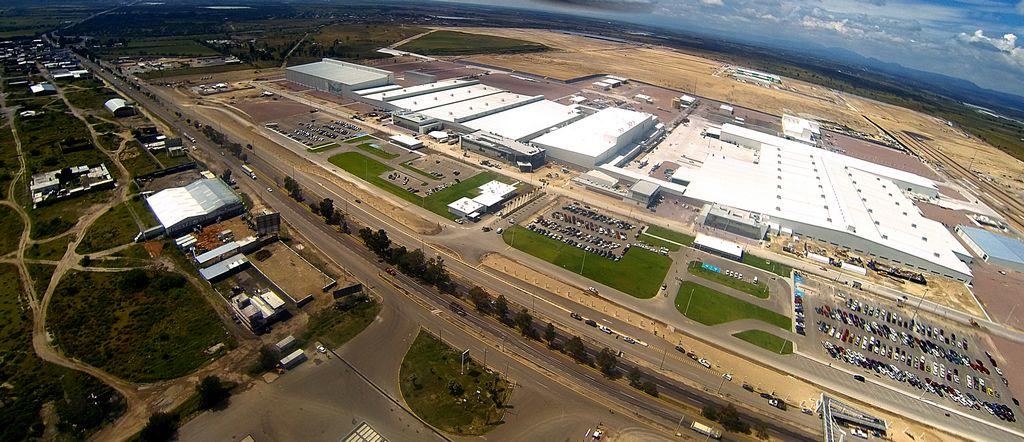 La planta de Nissan-Renault en México.