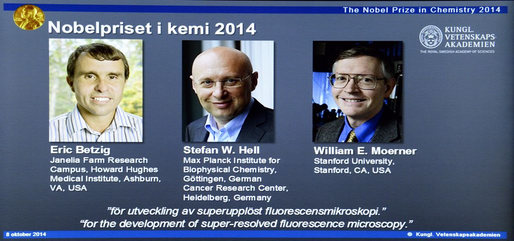 Nobel de Química para creadores de microscopio fluorescente