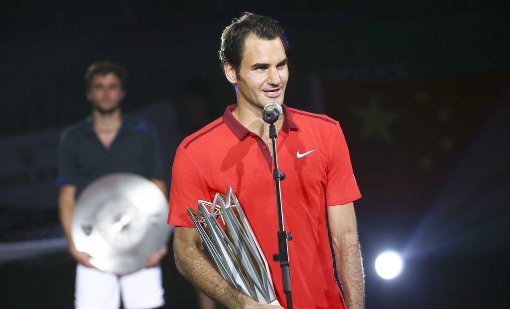 Roger Federer ganó el Masters 1000 de Shanghai