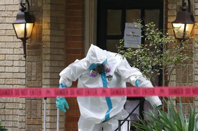 """Enfermera contagiada de ébola en Texas afirma estar """"bien"""""""