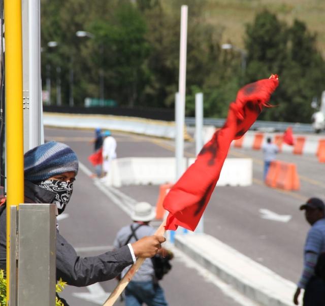 No cesan las protestas por estudiantes
