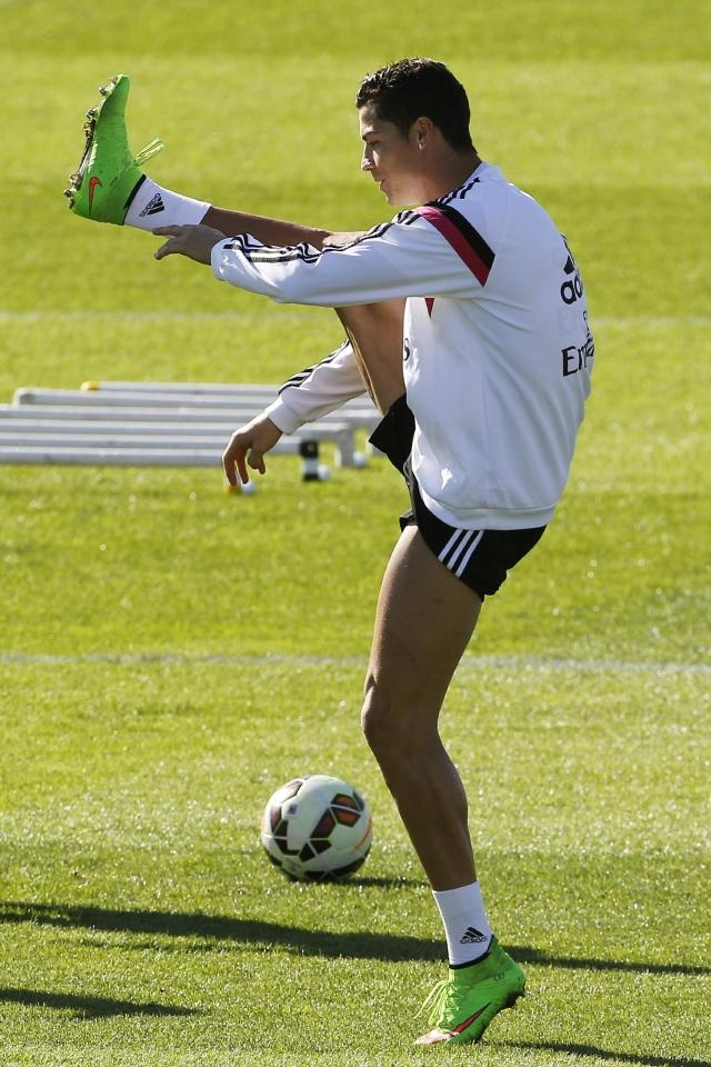 Con 15 goles en la actual campaña de Liga, Cristiano Ronaldo va en camino de establecer un nuevo récord.