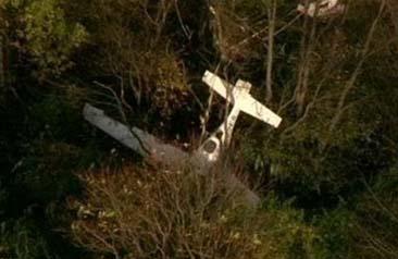 Federales investigan choque de avioneta y helicóptero que dejó tres muertos