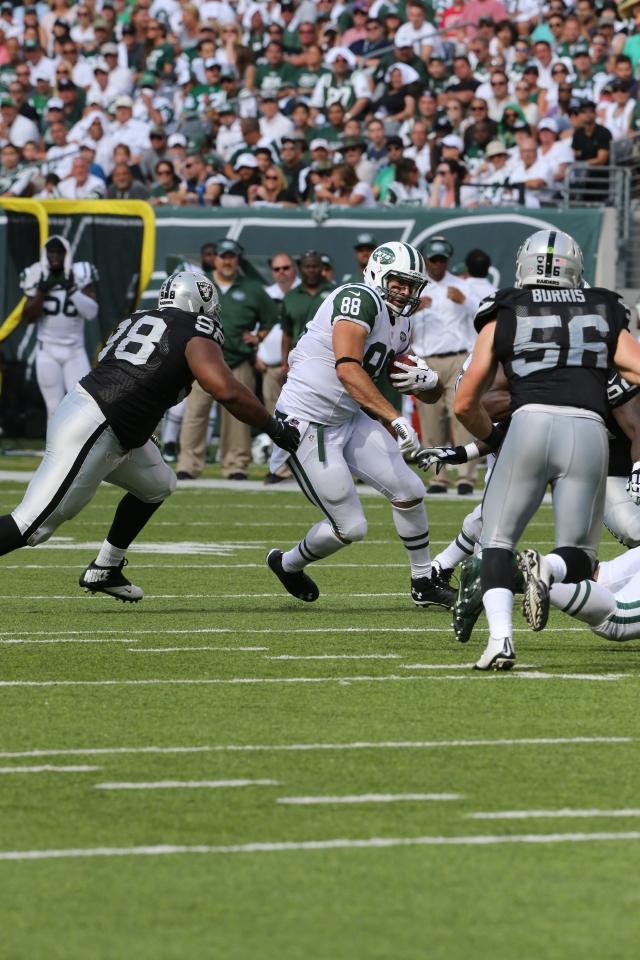 Jace Amaro sueña  volar alto con Jets