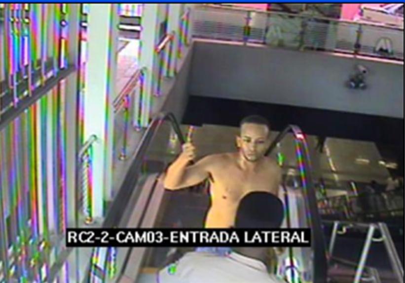 Difunden imagen de sospechoso de incendio en Metro de Dominicana