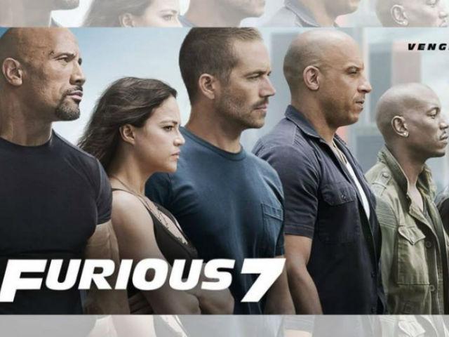 "Paul Walker aparece en los carteles de ""Fast & Furious 7"""