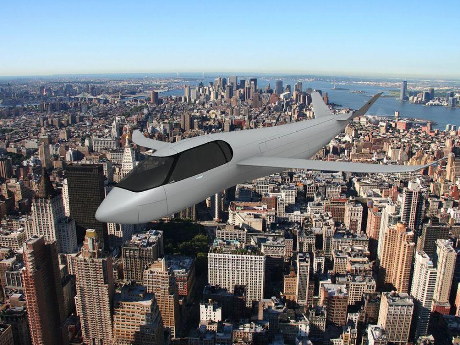 Transporte del futuro: auto, avión y helicóptero en uno