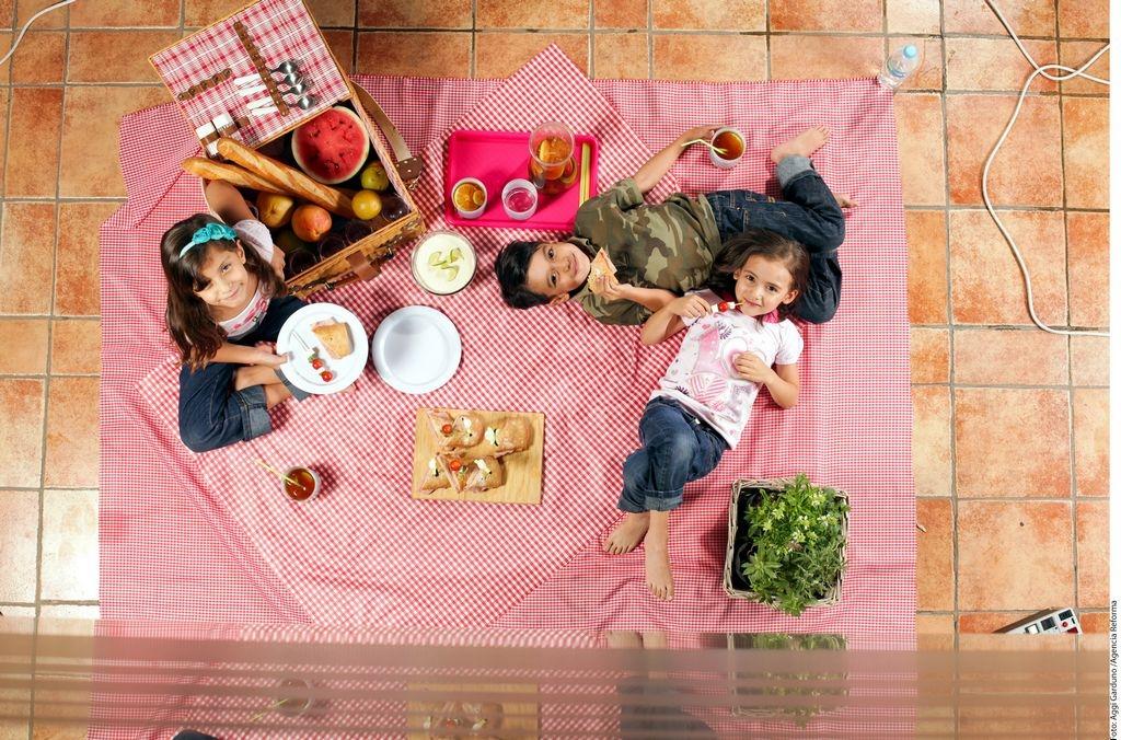 5 tips para cuidar la alimentación de los niños en los holidays
