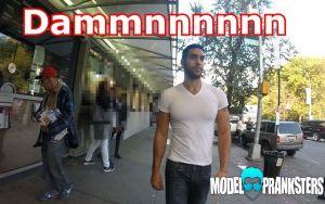 Esto es lo que sucede cuando un hombre guapo camina por las calles de NYC (video)