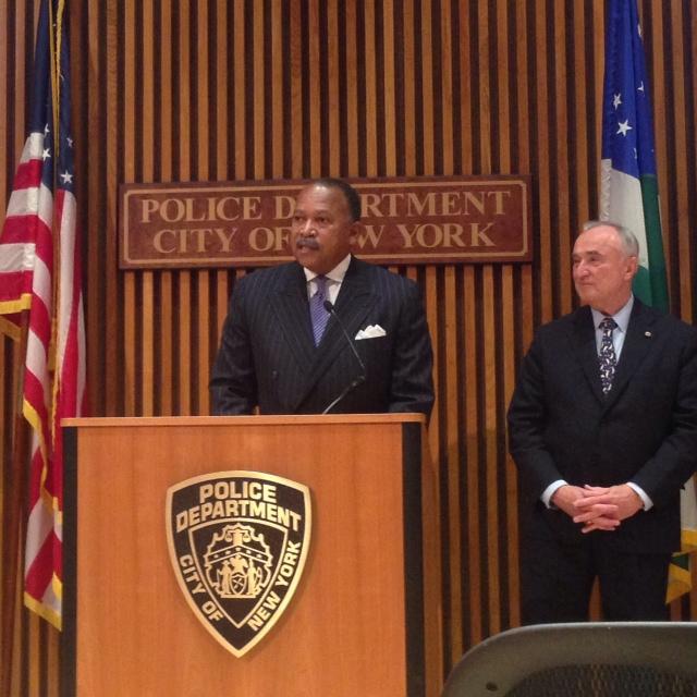 Benjamin Tucker asume como segundo al mando del NYPD