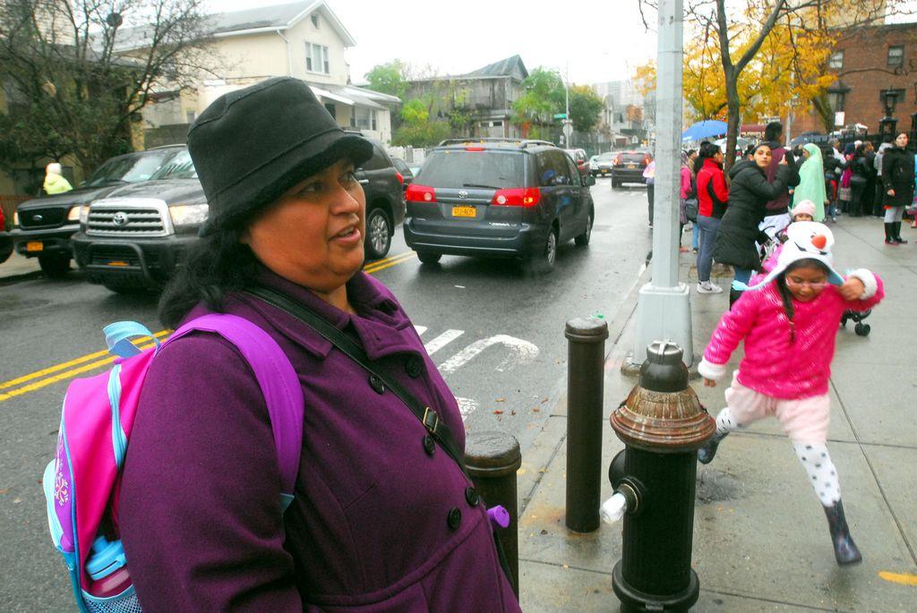 Martha Ortega dijo que pidieron a la Policía que aumente el patrullaje en la zona.