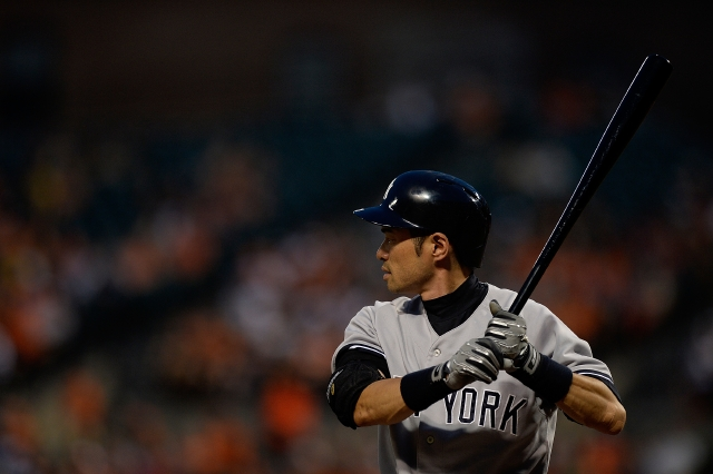 Ichiro aún tiene pelota