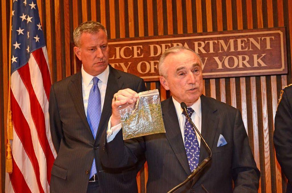 NYPD no arrestará por pequeñas cantidades de marihuana
