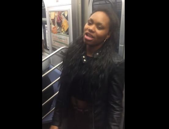 Arrestaron a cuatro tras golpiza en tren F (video)