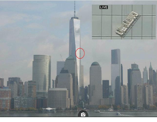 Rescatan limpiaventanas atrapados en piso 68 del WTC