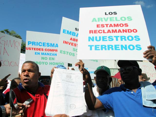 Reclaman pago por terrenos en donde opera embajada de EEUU en Dominicana