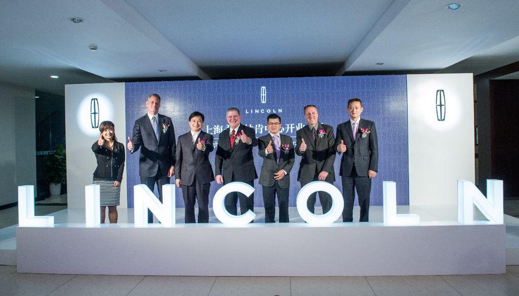 Lincoln abrió sus primeras tiendas en China