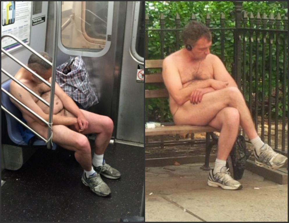 Y el hombre que anda desnudo por NYC es…