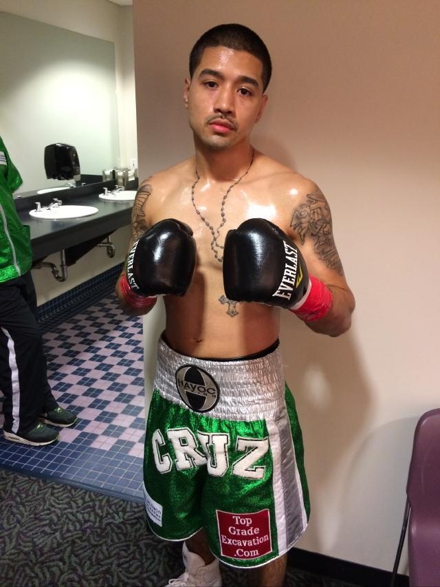 Bryant Cruz busca triunfo en velada de Queens