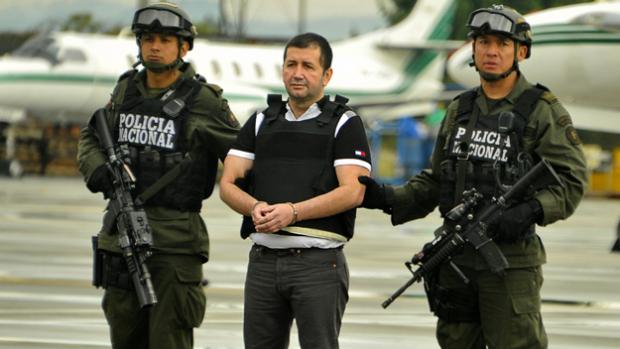 """""""El Loco Barrera"""" fue arrestado en el 2012 en Venezuela."""
