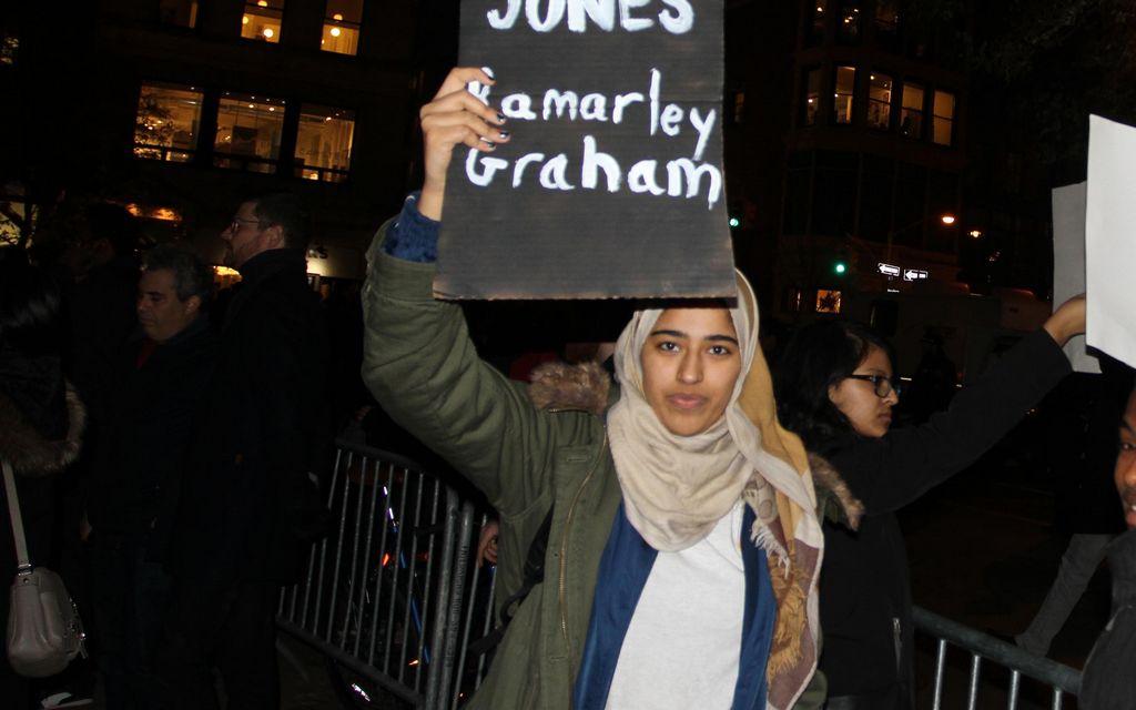 Caso Ferguson aviva reclamo contra violencia policial en NYC