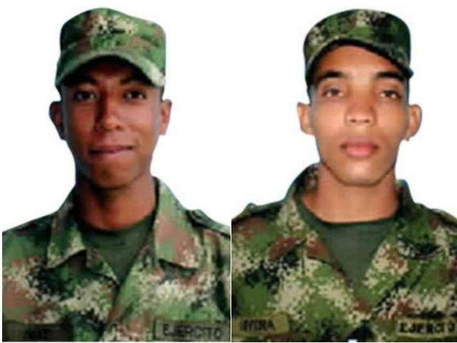 Las FARC liberan a soldados secuestrados en Colombia
