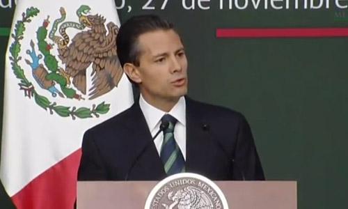 Peña Nieto anuncia 10 medidas para reforzar Estado de Derecho