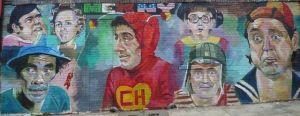 Tributo a Chespirito en las calles de Nueva York