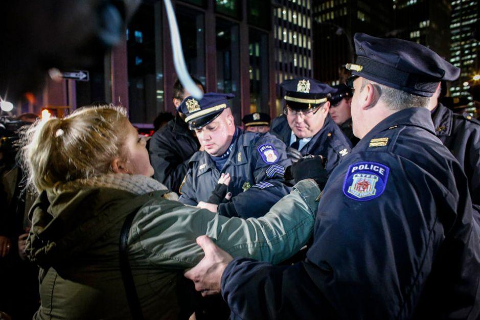Al menos 83 arrestados durante manifestaciones en NYC