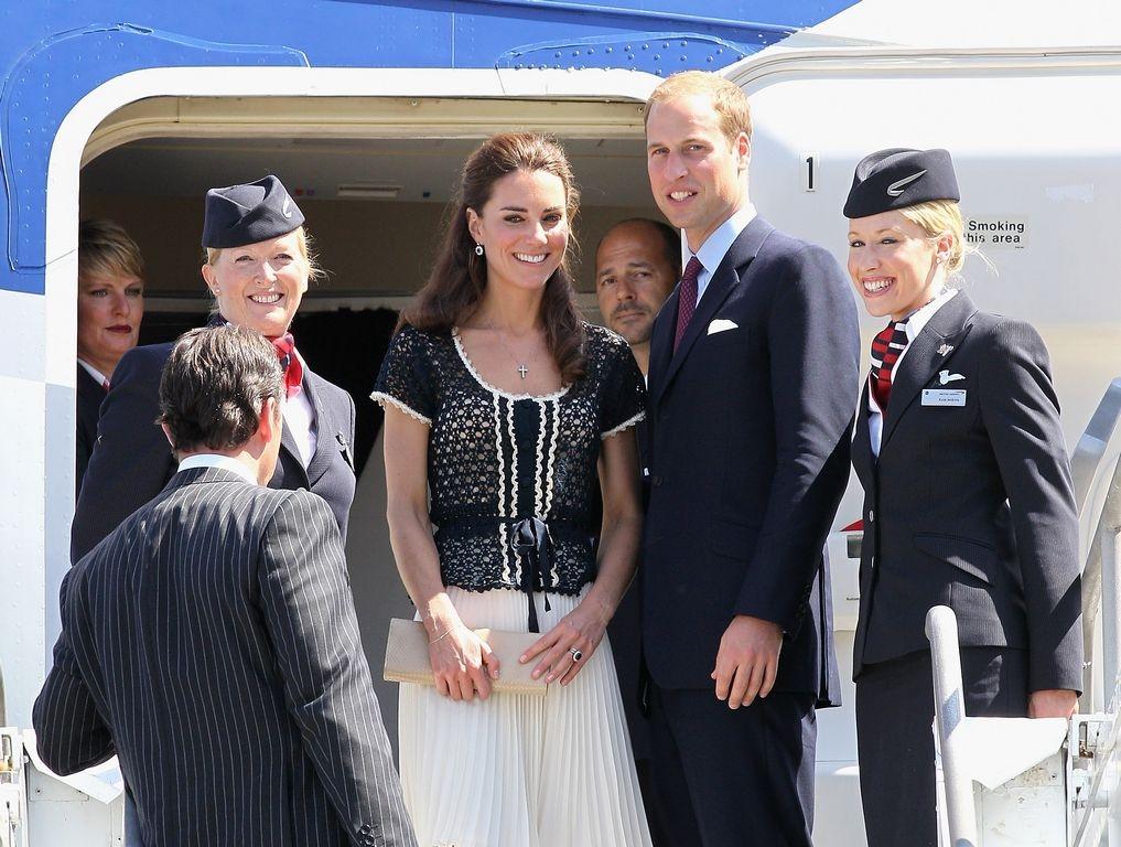 Kate Middleton y el príncipe William vienen a Nueva York por tres días.