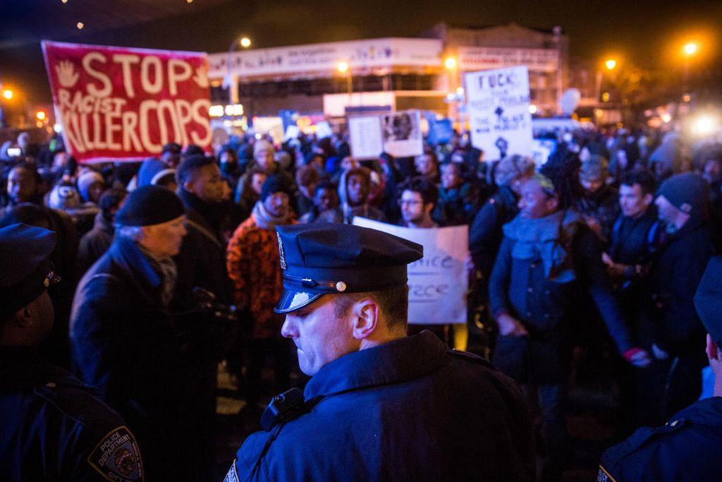 Protestas por caso Garner no dan tregua ni a la realeza