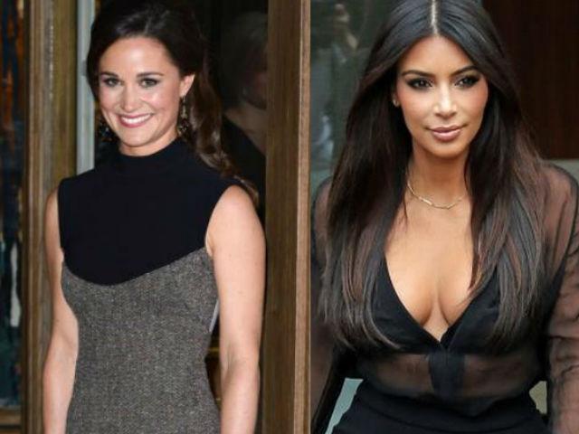 Pippa Middleton: El trasero de Kim Kardashian es mejor que el mío