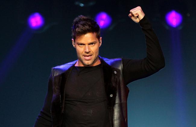 Ricky Martin también enloquece a hombres heterosexuales
